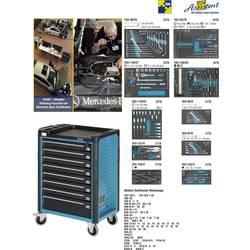 Hazet 179-8-2700-163/296 Pripomoček za voziček MERCEDES-BENZ 179-8 vključno z 296-delnim orodjem
