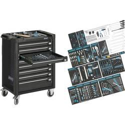 Kolica za alat Assistent 179-8 sa 300-dijelnim AUDI sortimentom Hazet 179-8-RAL7021/300