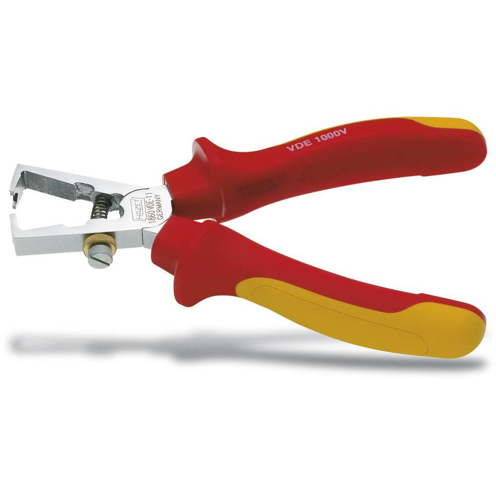 VDE kliješta za skidanje izolacije, pogodna za vodove s standardnom izolacijom 6 mm (maks.) Hazet 1860VDE-11