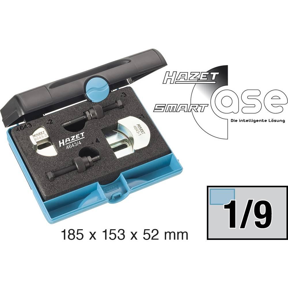 Komplet alata za klinasti žlijebasti remen 4643/4 Hazet 4-dijelni