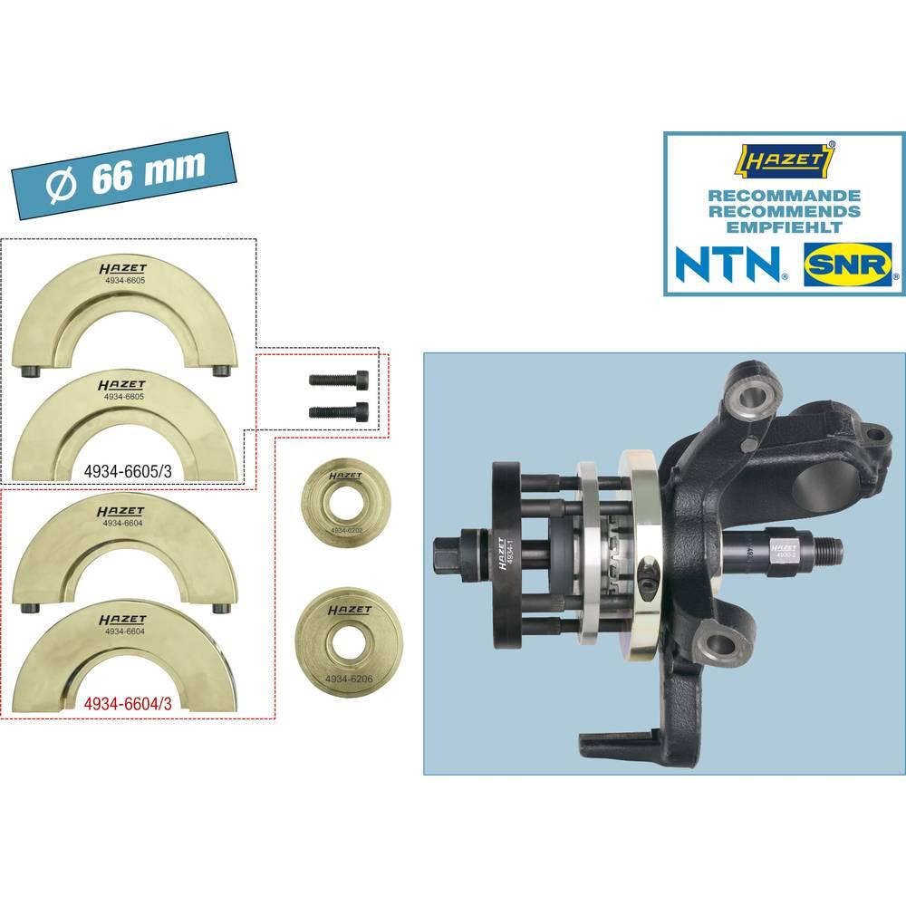 Komplet alata za jedinicu za skladištenje kompaktne glave kotača 4934-2566/6 Hazet