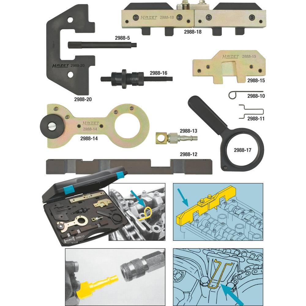 Alat za podešavanje motora 2988/11 Hazet BMW