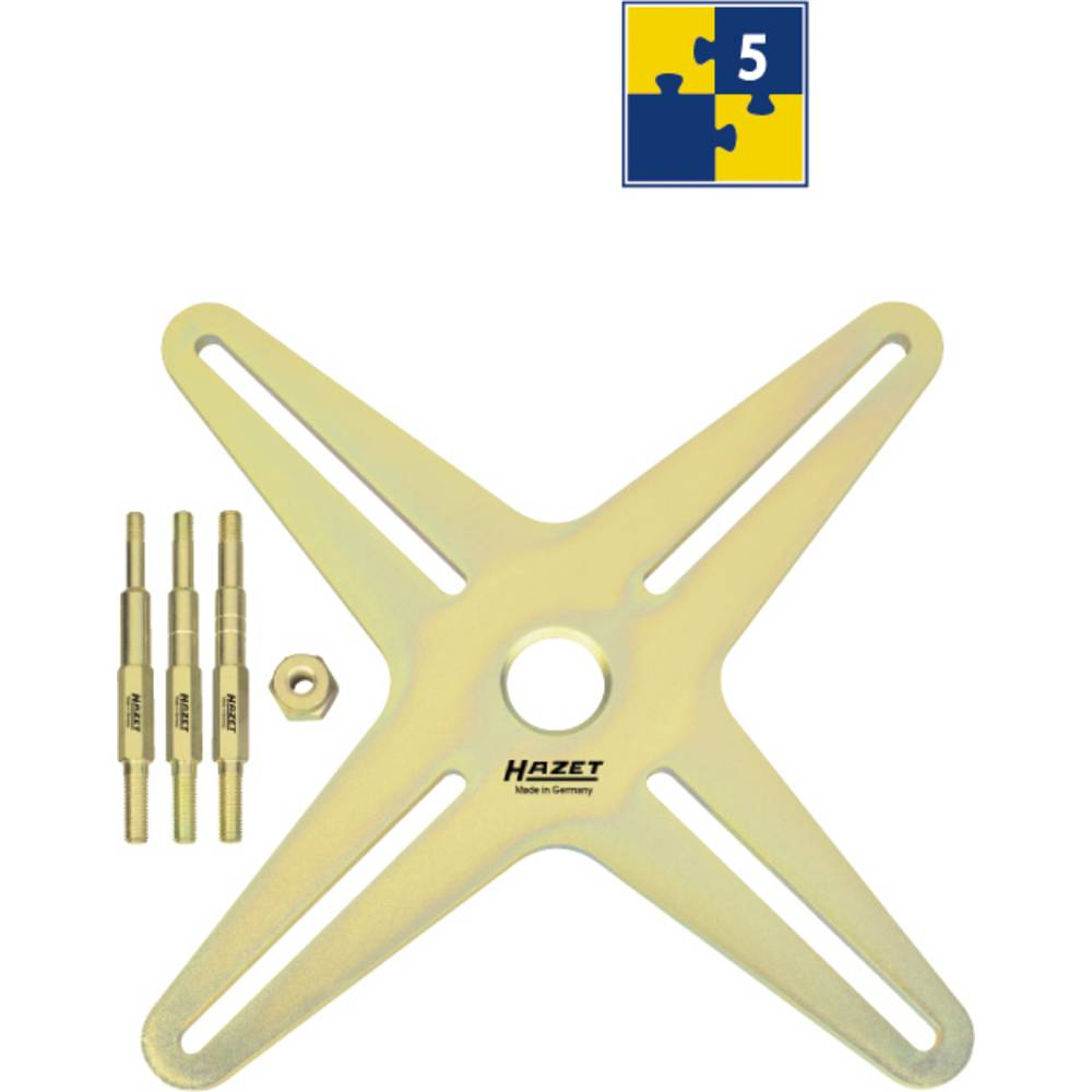 Dopolnilni set SAC orodje za spenjanje (naklon s 4 luknjami) Hazet 2174-2/5
