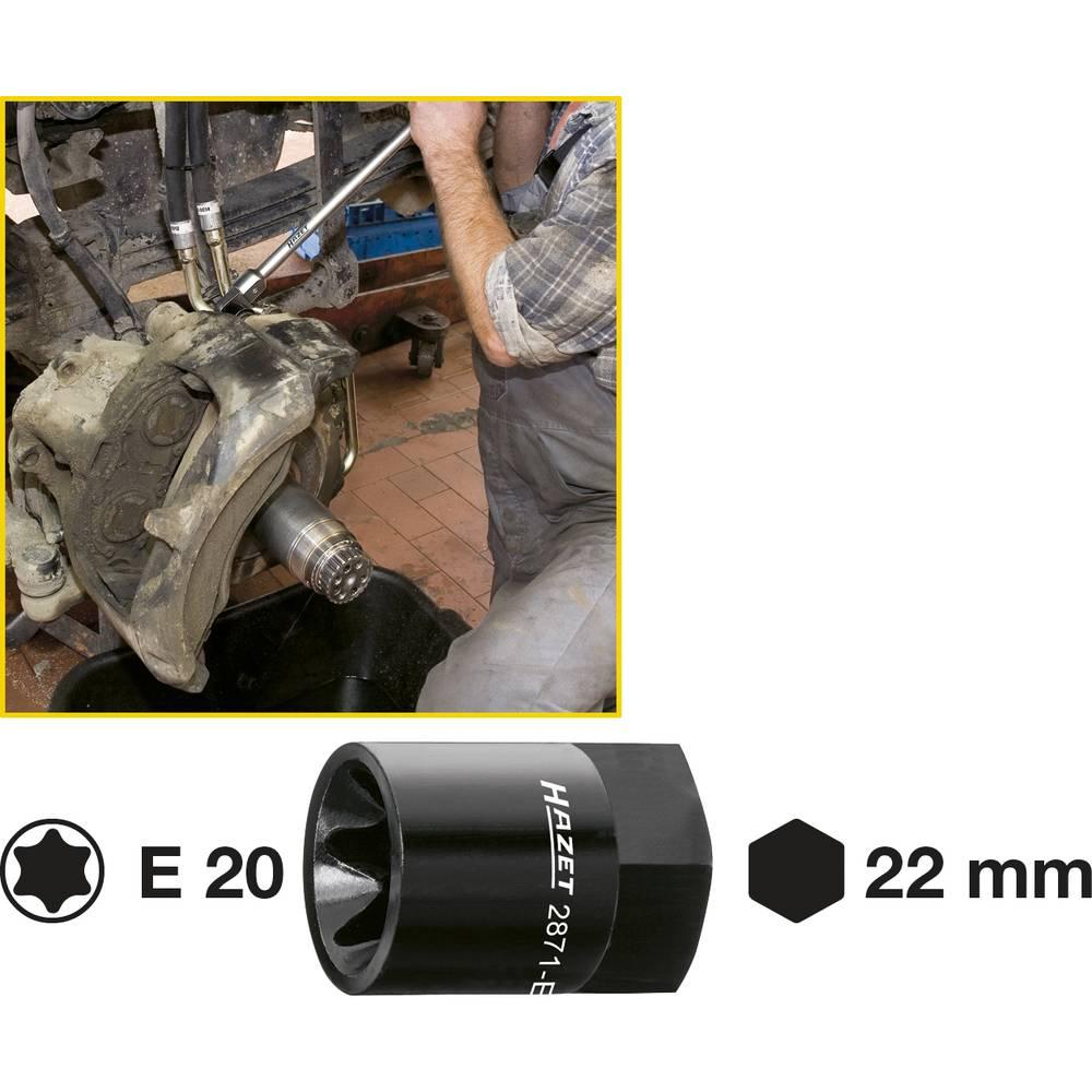 Sedlo za kočnicu TORX® Einsatz 2871-E20 Hazet