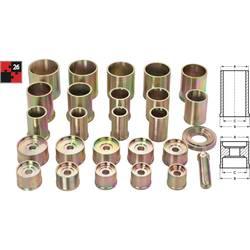 Univerzalni komplet tlačnog alata V2868 Vigor 26-dijelni