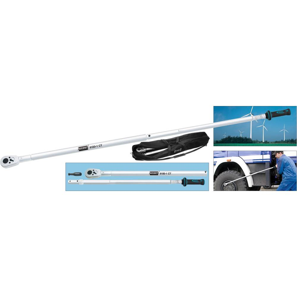 Momentnøgler Hazet 6170-1CT 3034 mm