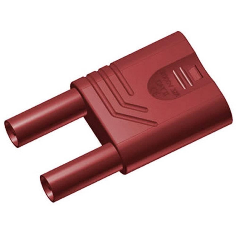 Sikkerhedskortslutningsstik SKS Hirschmann KST S WS rt Stift-diameter: 4 mm Rød 1 stk