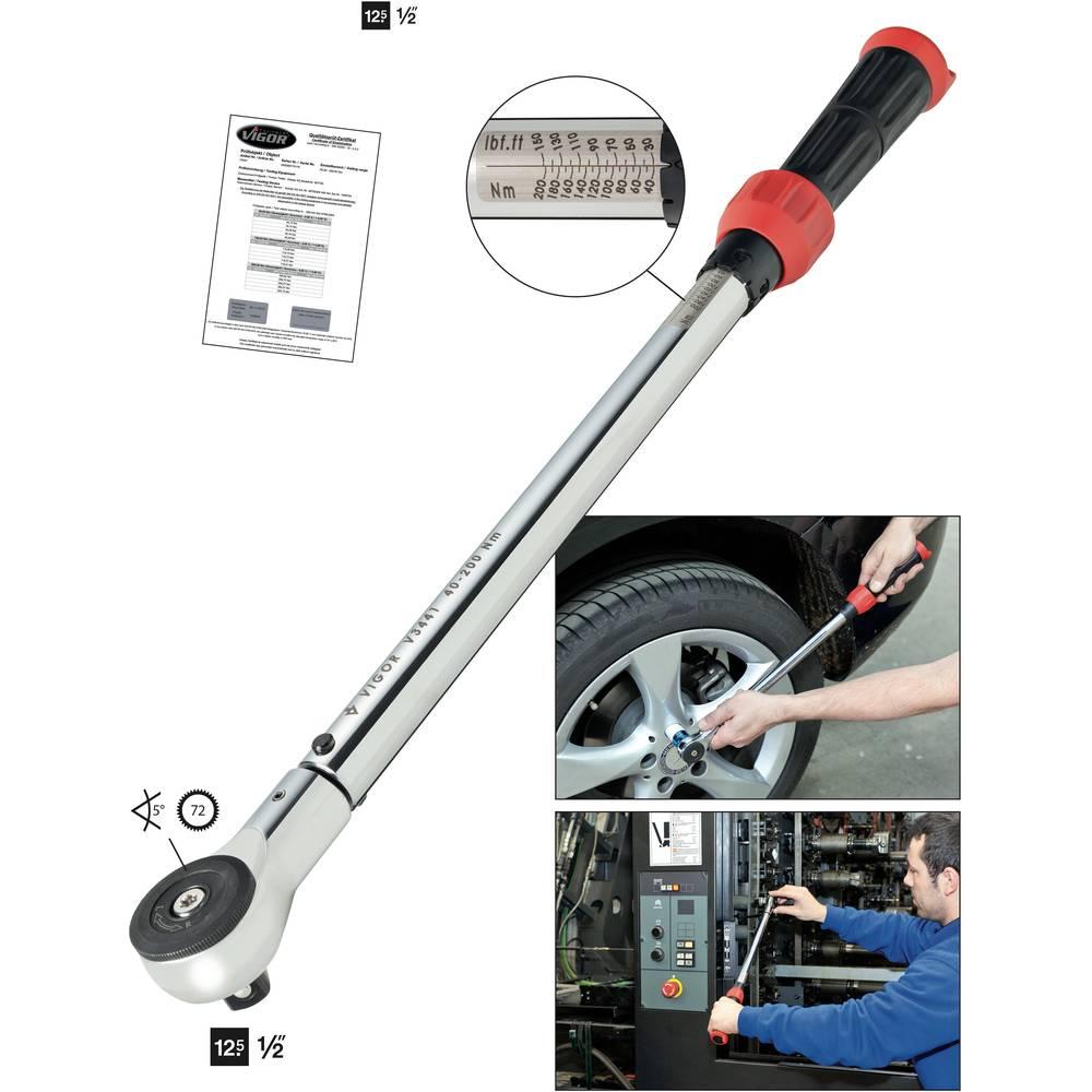 Momentni ključ V3441 Vigor 40 - 200 Nm