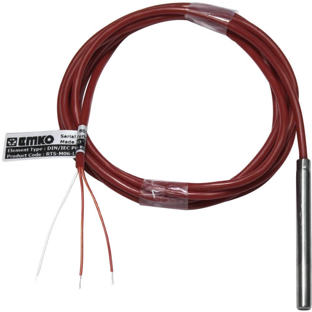 Senzor temperature Tip tipala Pt100 Mjerno područje temperature-50 Do +200 °C Duljina kabela (tekst) 2 m Emko Kalibriran po DAkk
