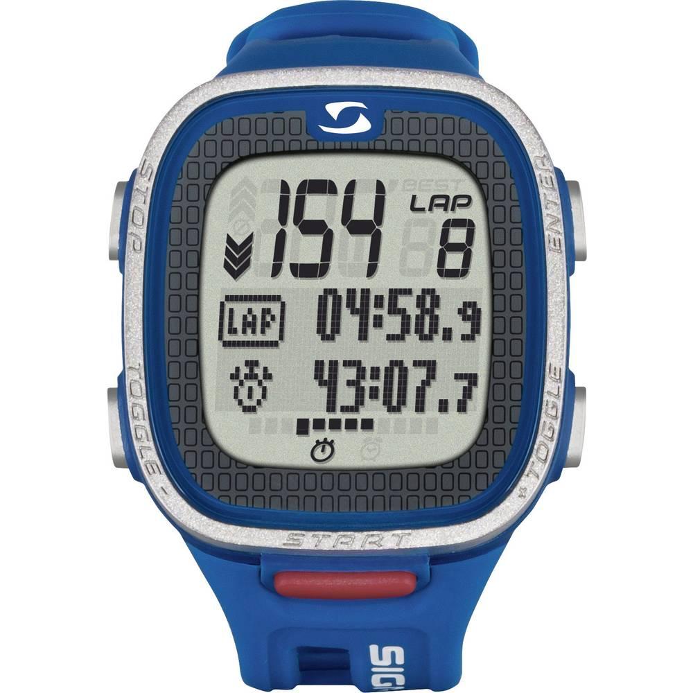 Sat s mjeračem pulsa PC 26.14 Sigma s prsnim pojasom plava