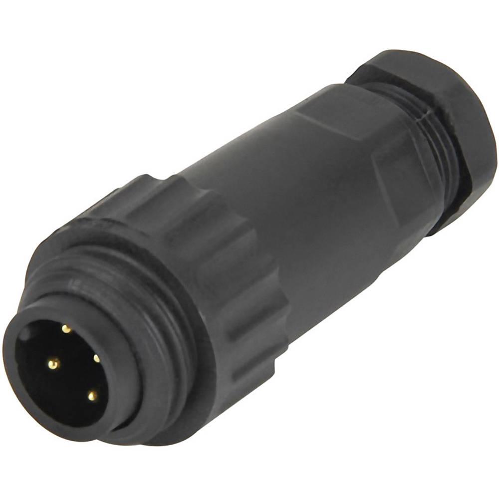 IP67 kabelski vtič, serije WA22 poli: 3 + PE 16 A 814085 Weipu 1 kos