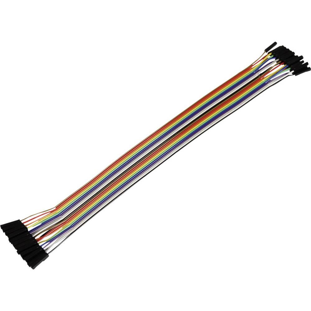 Raspberry Pi® povezovalni kabel Bunt RB-CB5-025 Banana Pi, pcDuino, Arduino, Raspberry Pi® A, B, B+