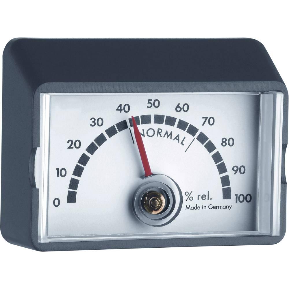 Stenski higrometer TFA 44.1012 črne barve