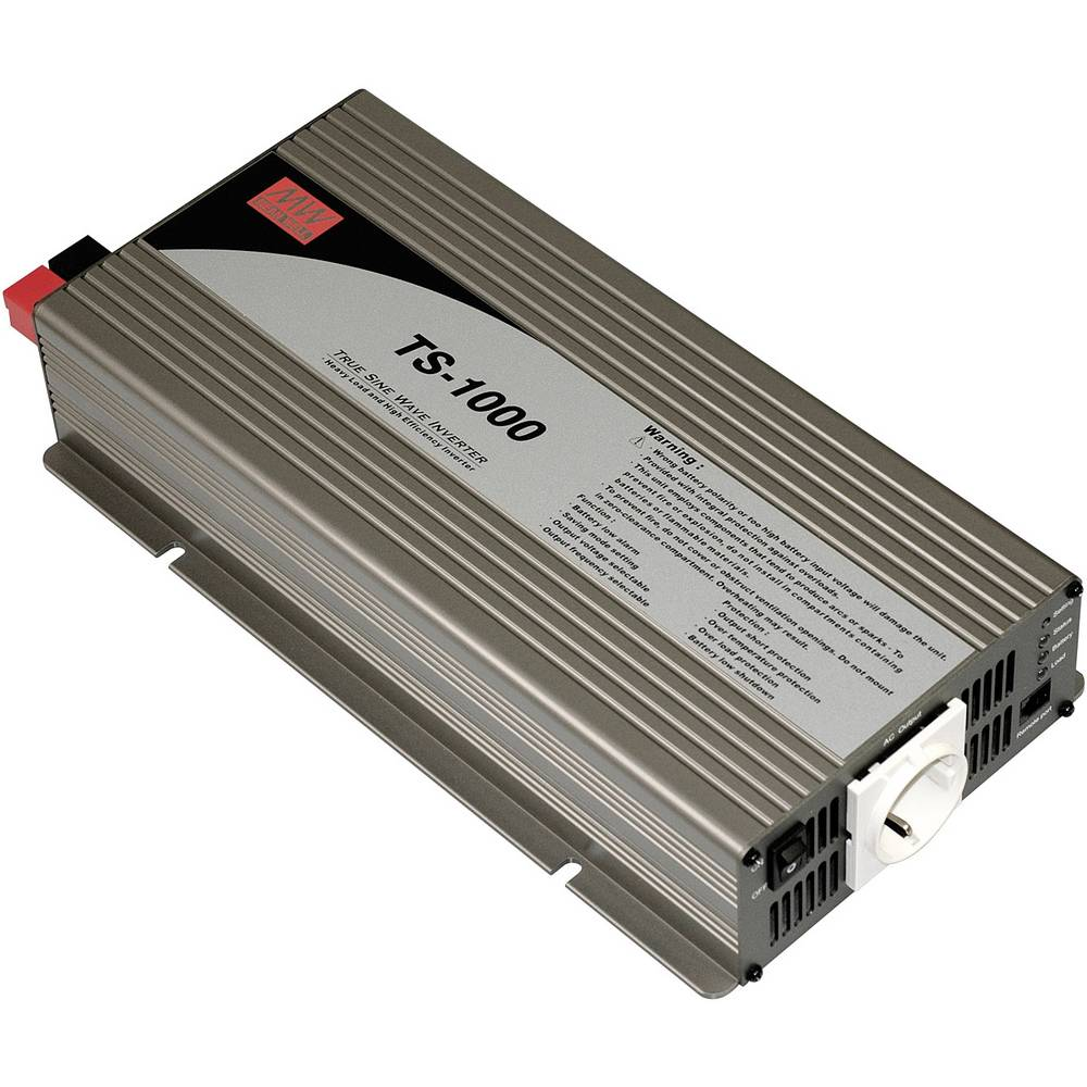 Inverter Mean Well TS-1000-224B 1000 W Skrueklemmer Jordstik