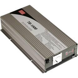 Razsmernik MeanWell No TS-1500-212B 1500 W 12 V/DC 10.5 - 15 V/DC vijačne sponke, vtičnica z zaščitnimi kontakti