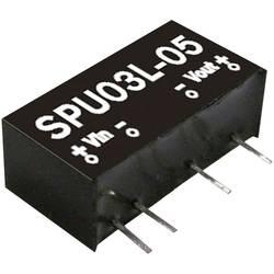 DC/DC pretvornik Mean Well SPU03M-12 12 V/DC 250 mA