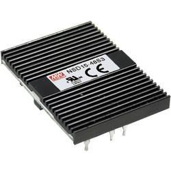 DC/DC pretvornik Mean Well NSD15-48S12 +12 V/DC 1250 mA