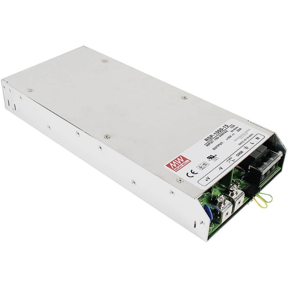 AC/DC napajalni modul, zaprti Mean Well RSP-1000-24 960 W