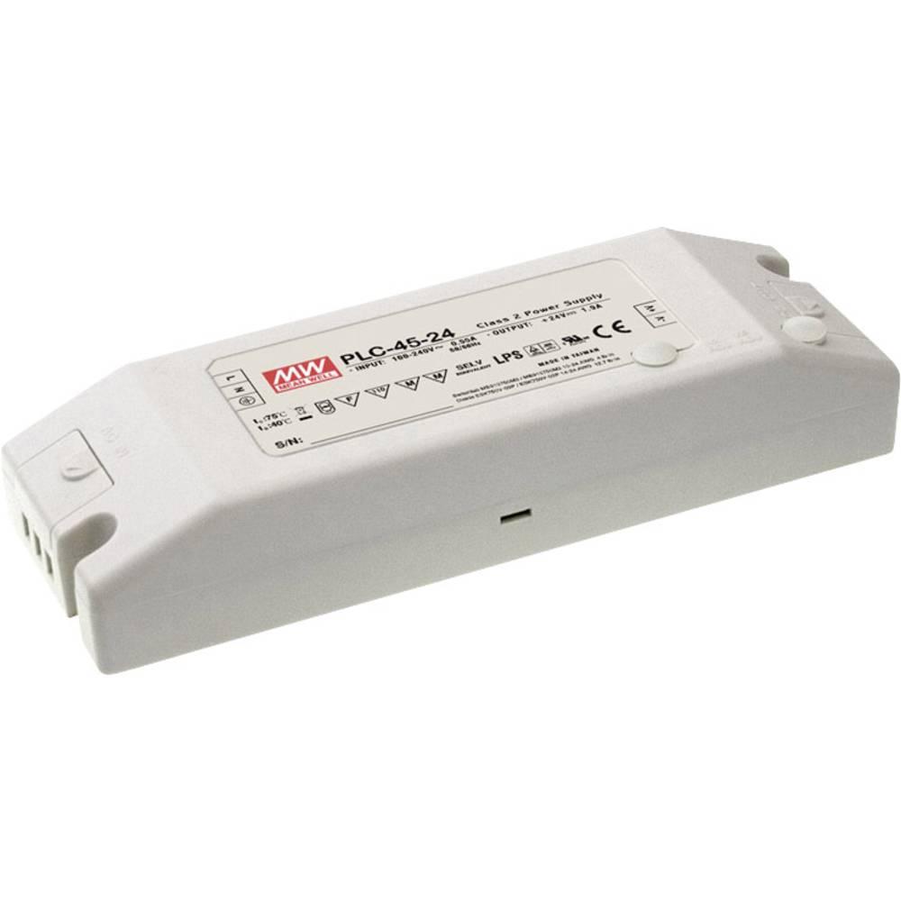 Mean Well LED gonilnik LED preklopni napajalnik PLC-45-27