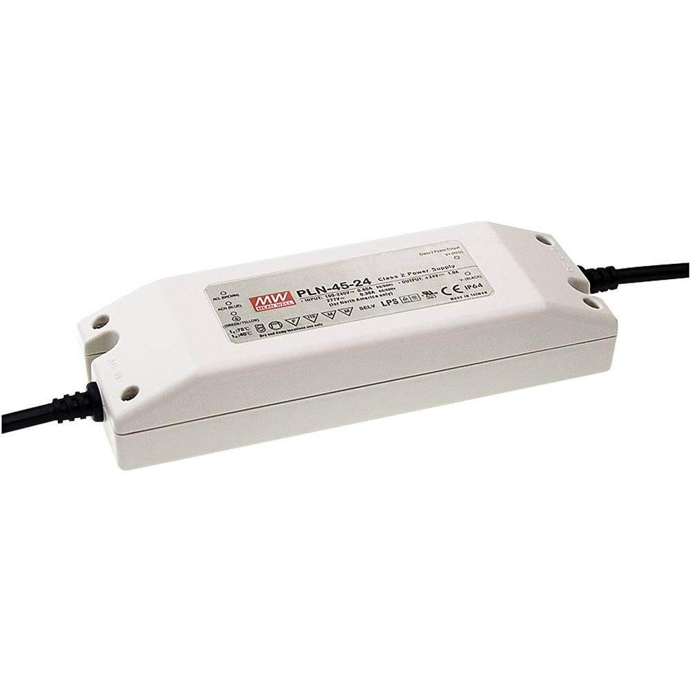 LED gonilnik, konstantni tok Mean Well PLN-45-12 45 W (maks.) 3.8 A 9 - 12 V/DC možnost zatemnjevanja