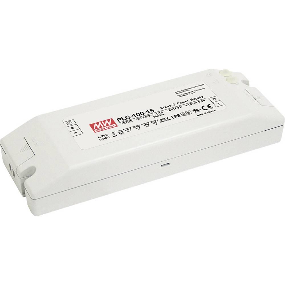 Mean Well LED gonilnik LED preklopni napajalnik PLC-100-15