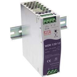 Napajalnik za namestitev na vodila (DIN letev) Mean Well WDR-120-12 12 V/DC 10 A 120 W 1 x