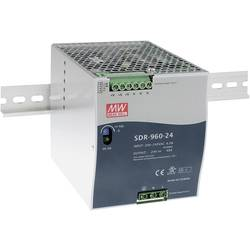 Napajalnik za namestitev na vodila (DIN letev) Mean Well SDR-960-24 24 V/DC 40 A 960 W 1 x