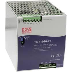Napajalnik za namestitev na vodila (DIN letev) Mean Well TDR-960-24 24 V/DC 40 A 960 W 1 x