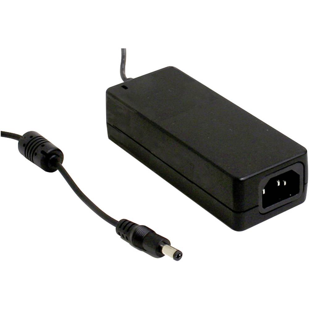 Namizni napajalnik s stalno napetostjo Mean Well GSM40A12-P1J 12 V/DC 3.34 A 40 W