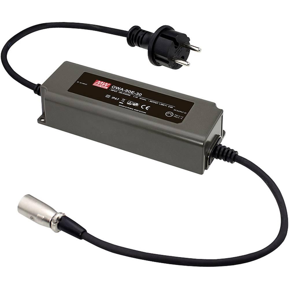 Namizni napajalnik s stalno napetostjo Mean Well OWA-90E-36 36 V/DC 2.5 A 90 W