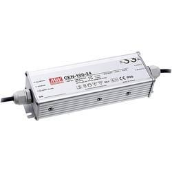 LED gonilnik, LED Trafo, konstantna napetost, konstantni tok Mean Well CEN-100-36 95 W (maks.) 2.65 A 23.4 - 36 V/DC PFC-vezje,