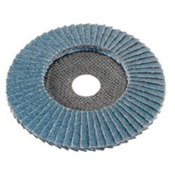 Pahljačasta brusilna plošča za kovino, nerjaveče jeklo, bombirano Flex 349925 premer 115 mm