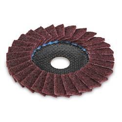 SC-VL brusilna plošča iz flisa za kovino, nerjaveče jeklo, bombirano Flex 358606 1 kos