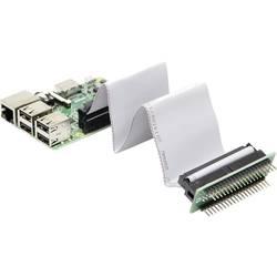 Joy-it RB-CON+01 gpio kabel Raspberry Pi [40x gpio utičnica - 40x gpio utičnica, gpio utikač] 15.00 cm siva