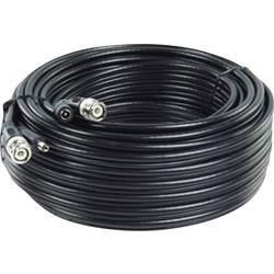 Podaljševalni kabel, 20 m, pripravljen za priklop, RG59-kabel z ločeno napetostjo za 12 V/DC RG 59/20 BNC (sf)