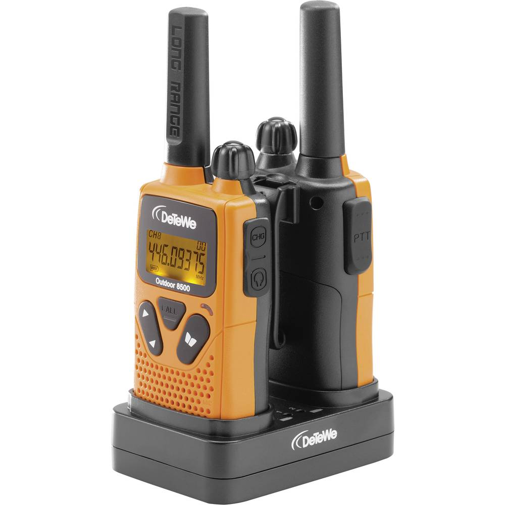 DeTeWe Outdoor 8500 208050 pmr ročna radijska postaja 2-delni komplet