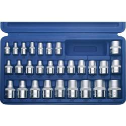 Zunanji TORX - vtični ključ, komplet-komplet 28delni 3/8 (10 mm), 1/4 (6.3 mm), 1/2 (12.5 mm) Kunzer 7EP28