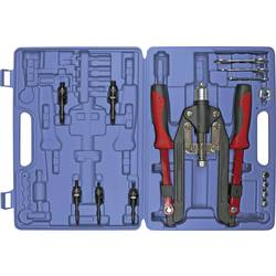 Kunzer velike klešče za kovičenje z zložljivimi ročaji, 14-delni komplet v kovčku, dolžina 266 mm 7NZSG14