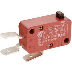 Mikro stikalo, 400 V/AC 10 A 1 x vklop/(vklop) Marquardt 01006.1011-01 tipkalno 1 kos