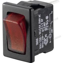Preklopno stikalo 250 V/AC 6 A 1 x izklop/vklop Marquardt 01800.1104-02 IP40 zaskočno 1 kos