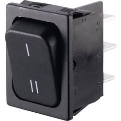 Preklopno stikalo 250 V/AC 6 A 2 x v/vklop Marquardt 01834.3309-00 IP40 zaskočno 1 kos