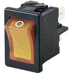 Preklopno stikalo 250 V/AC 4 A 2 x izklop/vklop Marquardt 01855.1104-00 IP40 zaskočno 1 kos