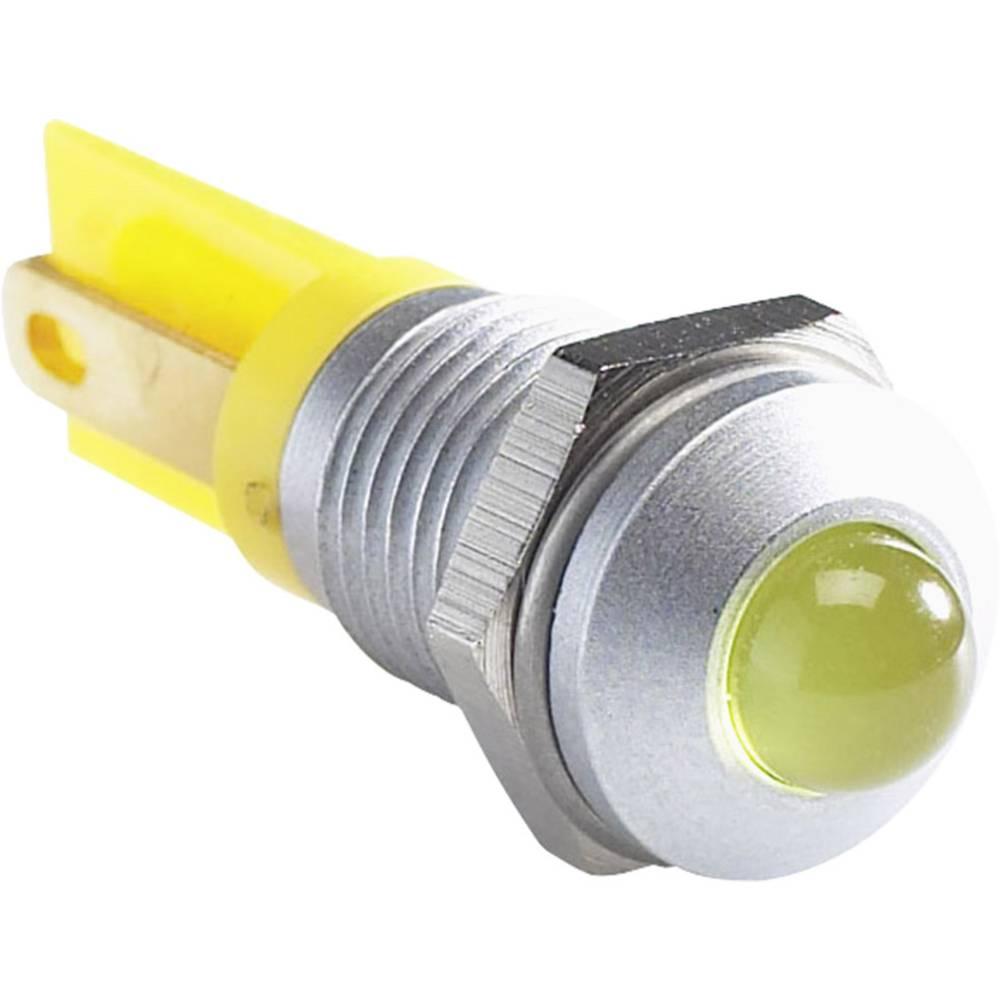 LED signalna lučka, modra 12 V/DC APEM Q8P1CXXB12E