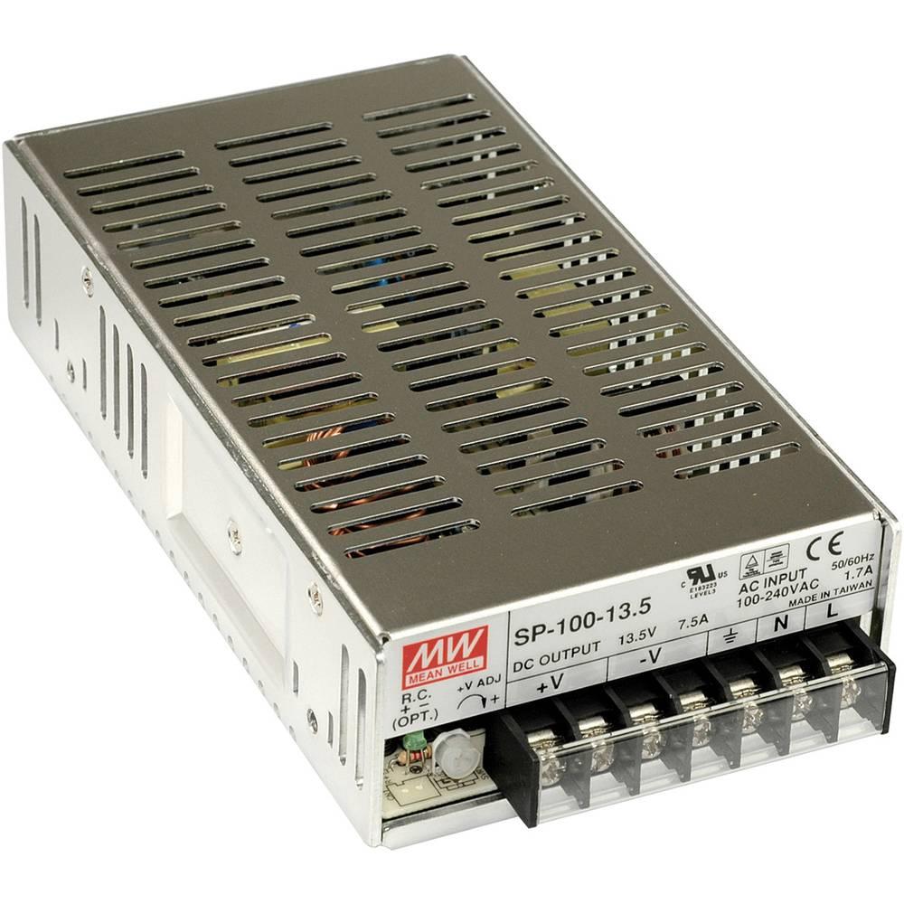 AC/DC napajalni modul, zaprti Mean Well SP-100-24 101 W