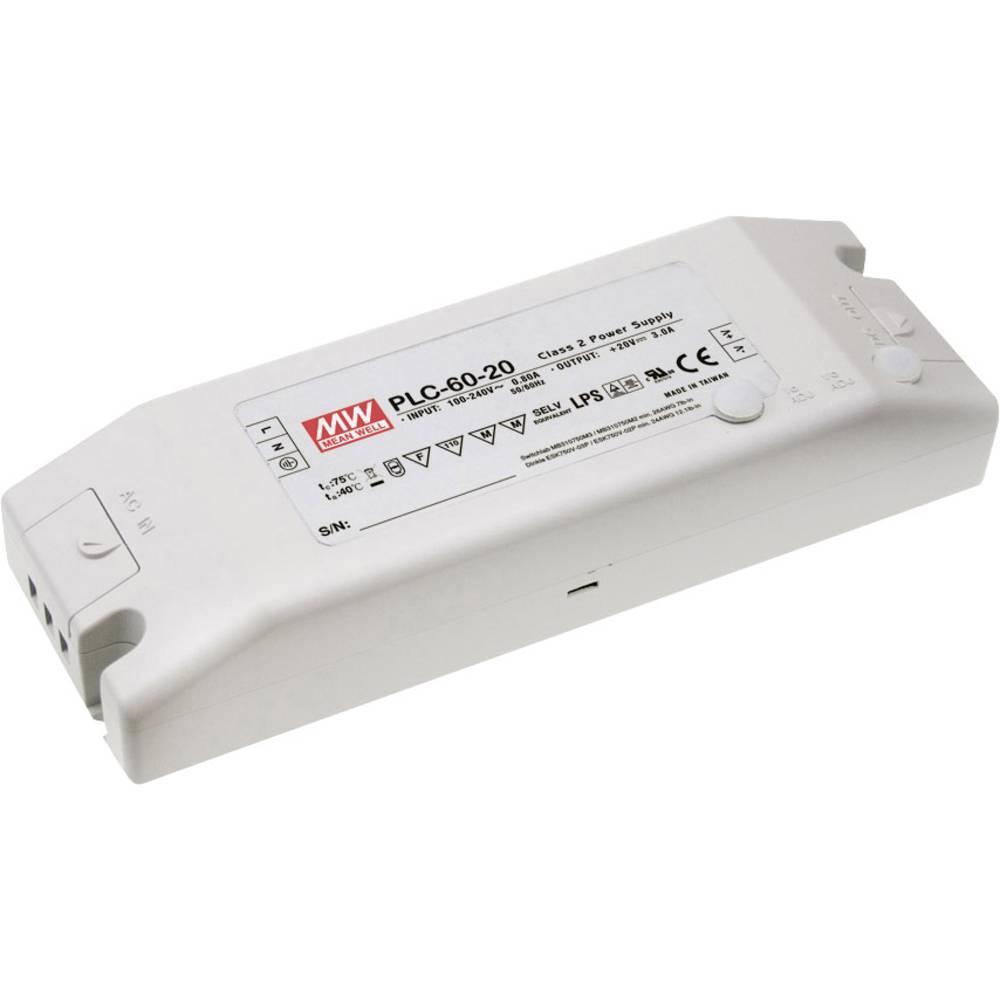 Mean Well LED gonilnik LED preklopni napajalnik PLC-60-48