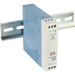 Napajalnik za namestitev na vodila (DIN letev) Mean Well MDR-10-15 15 V/DC 0.67 A 10 W 1 x