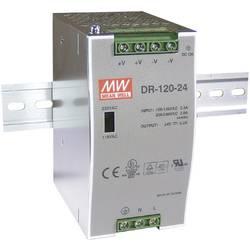 Napajalnik za namestitev na vodila (DIN letev) Mean Well DR-120-48 48 V/DC 2.5 A 120 W 1 x