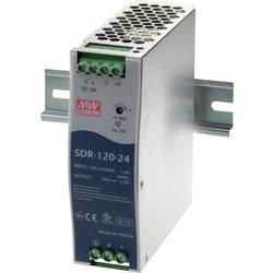 Napajalnik za namestitev na vodila (DIN letev) Mean Well SDR-120-48 48 V/DC 2.5 A 120 W 1 x
