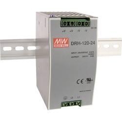 Napajalnik za namestitev na vodila (DIN letev) Mean Well DRH-120-48 48 V/DC 2.5 A 120 W 1 x
