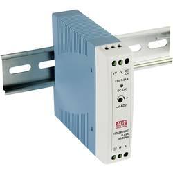 DIN-skena nätaggregat Mean Well MDR-20-24 24 V/DC 1 A 24 W 1 x